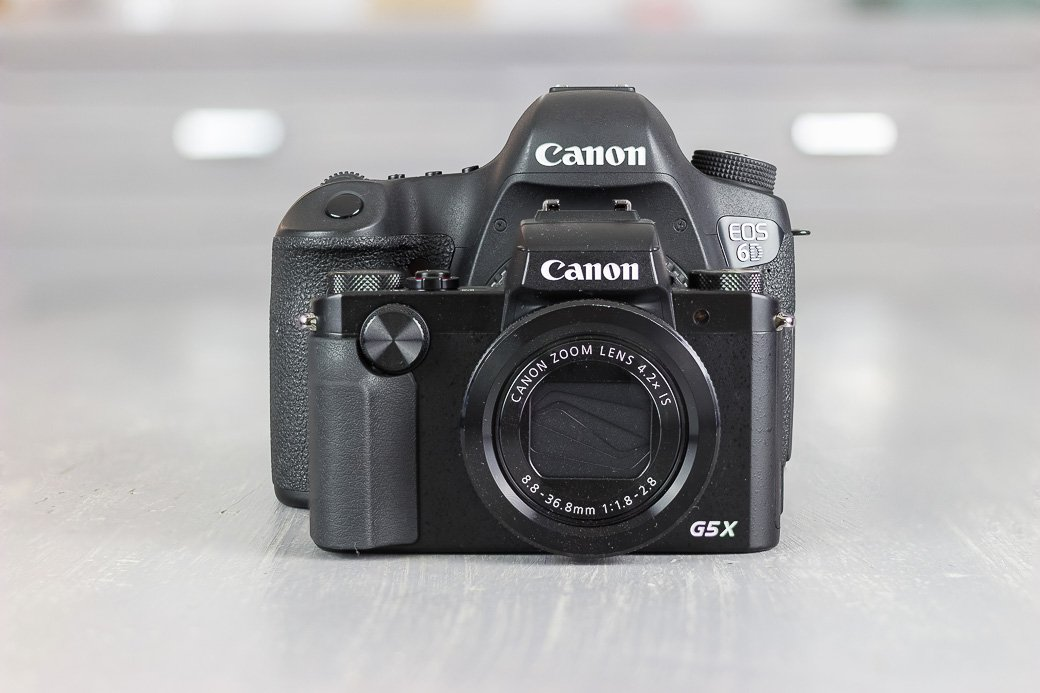 compact canon g5x