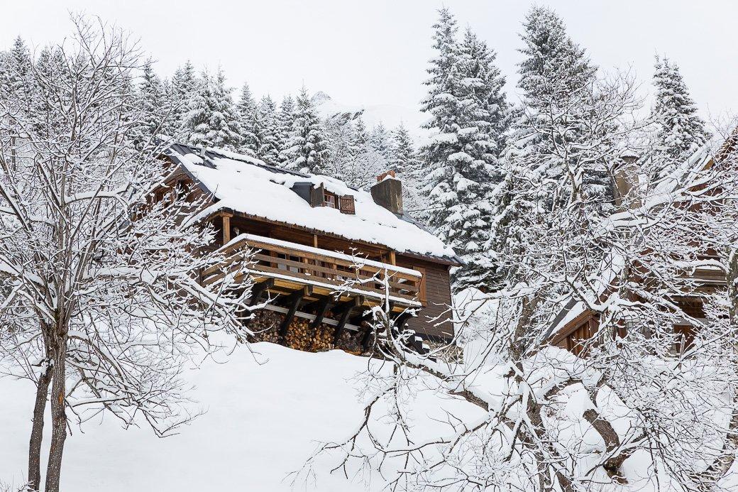 Chalet station de ski Gourette