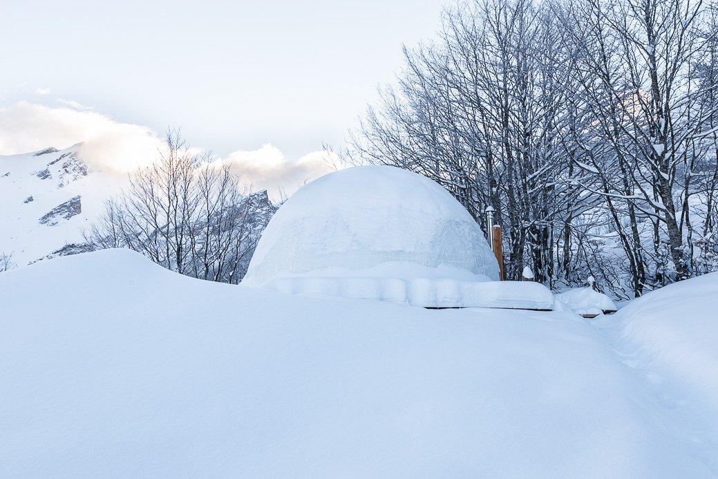 Snowdome station de Gourette