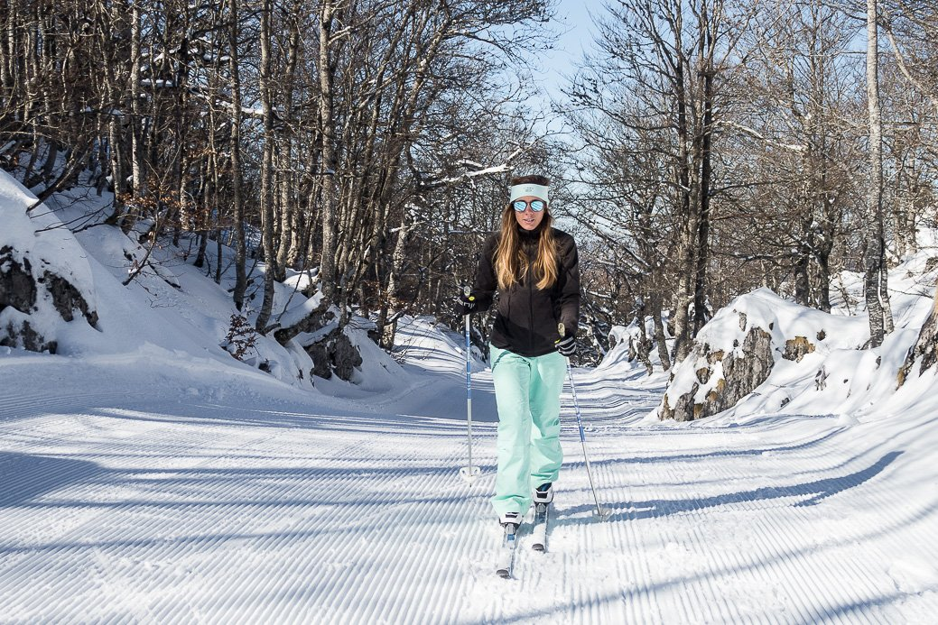 tenue ski de fond