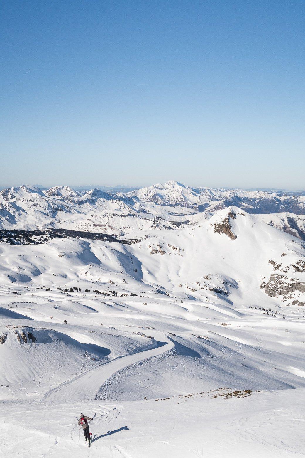 La pierre Saint-Martin station de ski Pyrénées