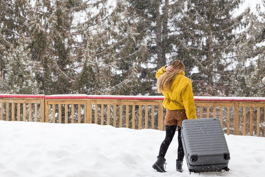 valise pour le ski