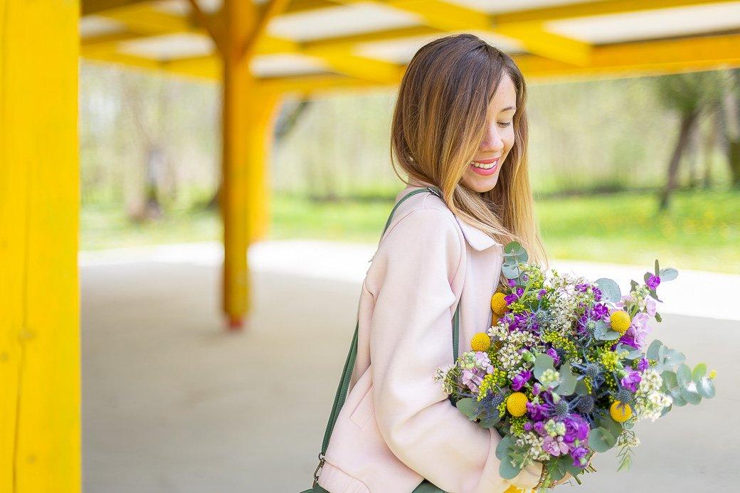 bouquet le jardin des fleurs