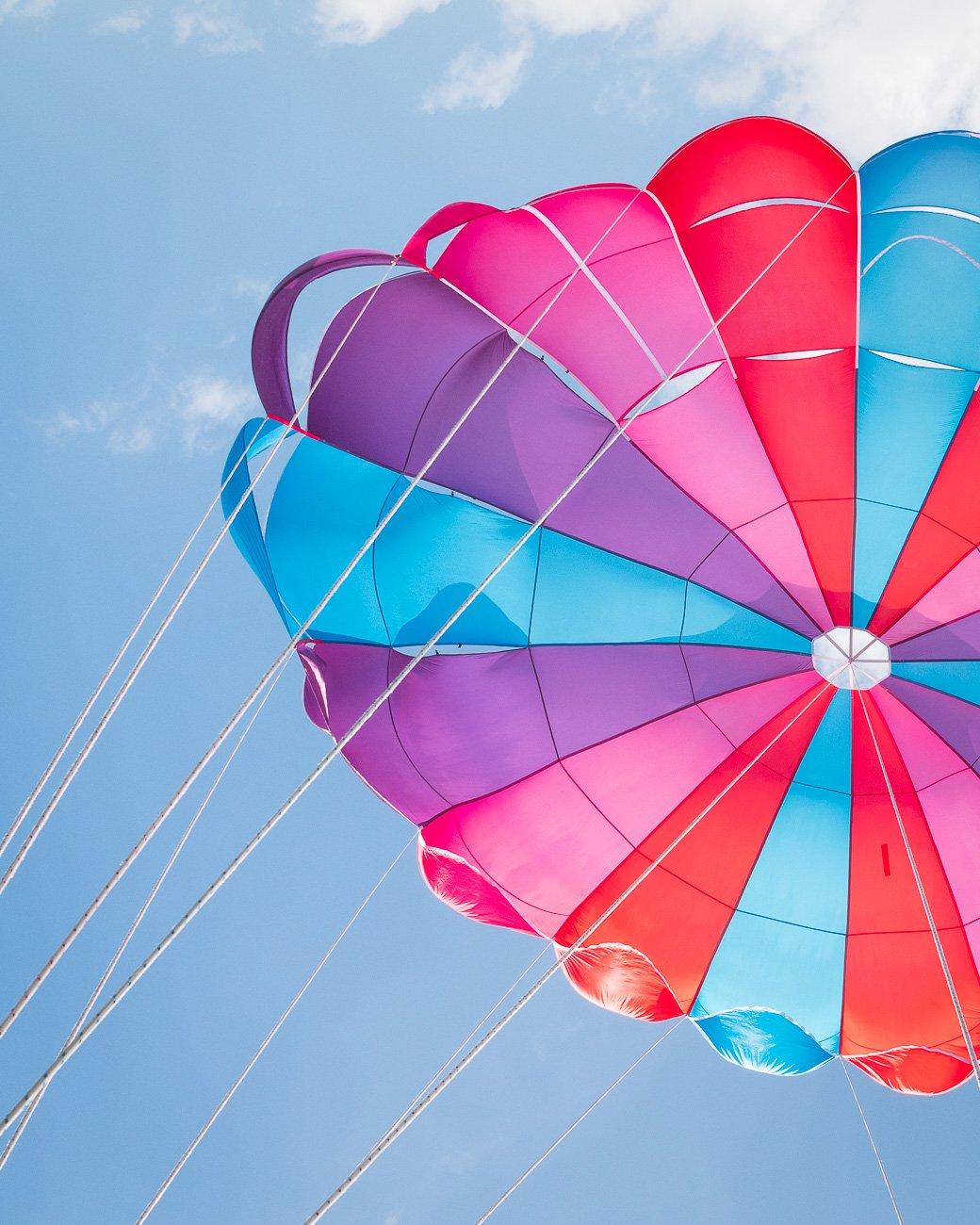 Madère parachute ascensionnel