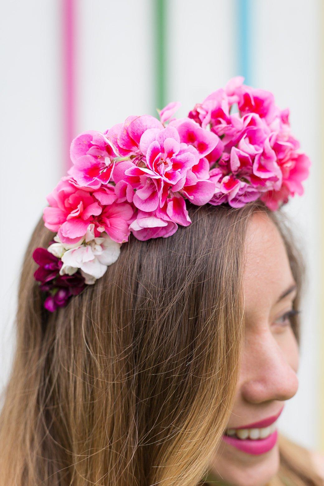 geranium fleur idéal
