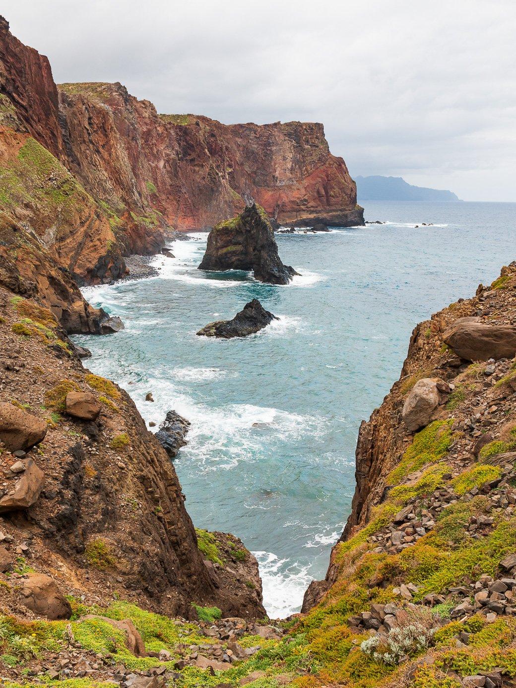 Madère paysages falaises