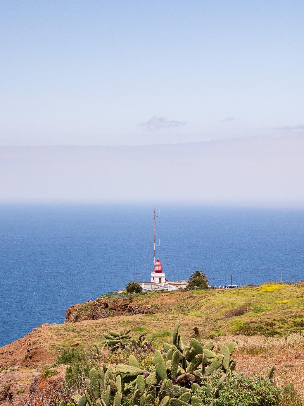 Phare Ponta Do Pargo Madère