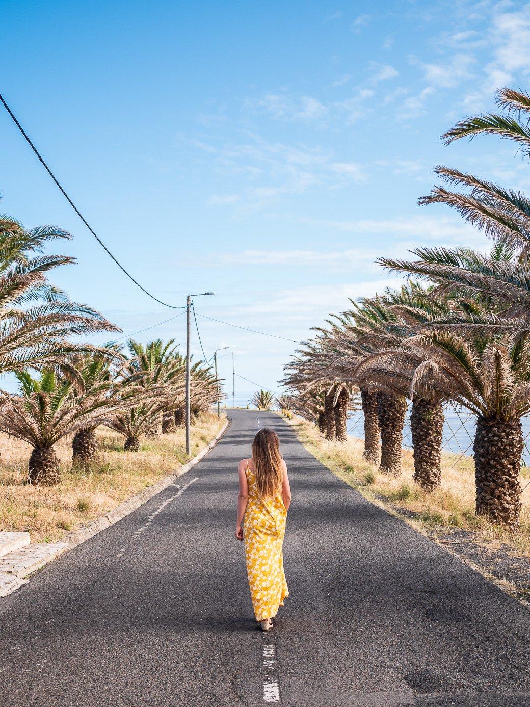 Porto Santo blogueuse voyage