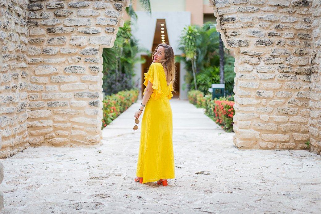 blogueuse mode à l'hôtel viva wyndham mexique