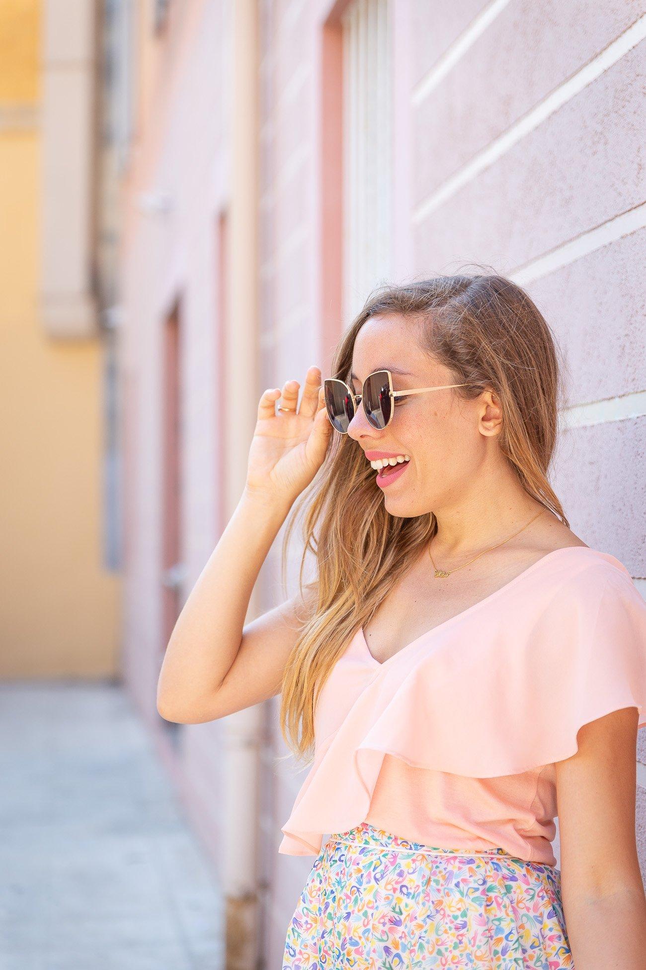 tendance rose pastel été