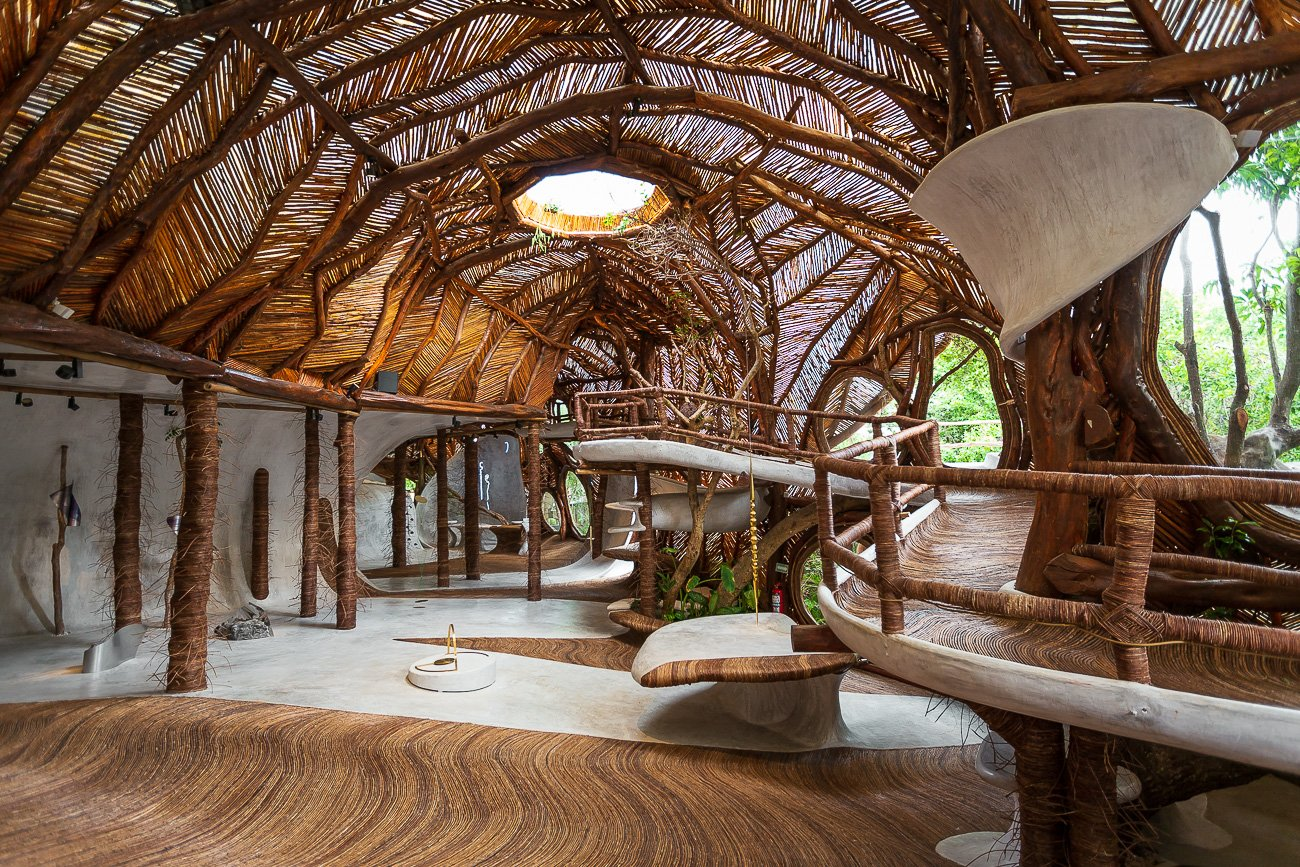 Azulik hôtel galerie Tulum