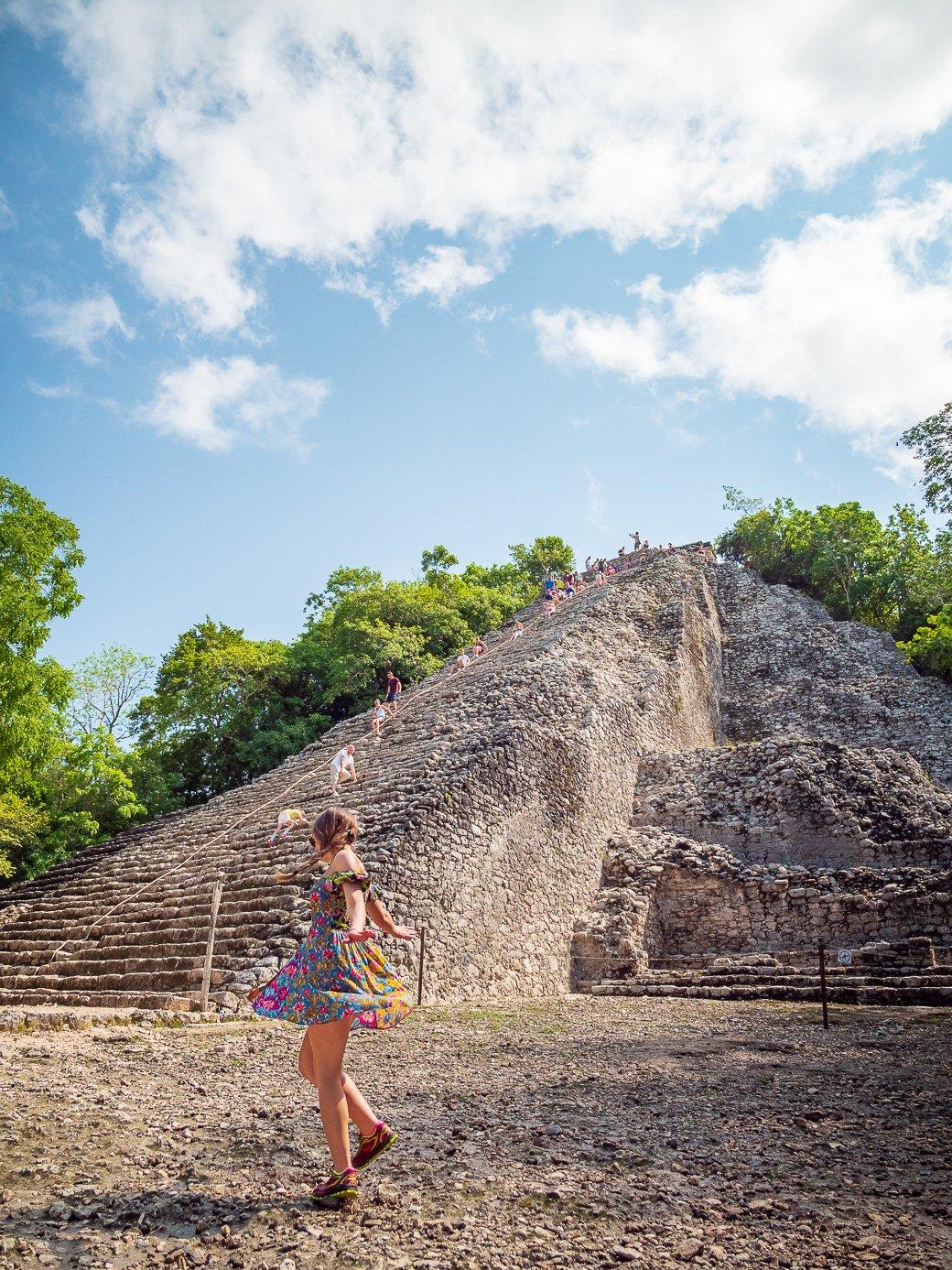 ruines de Coba Mexique