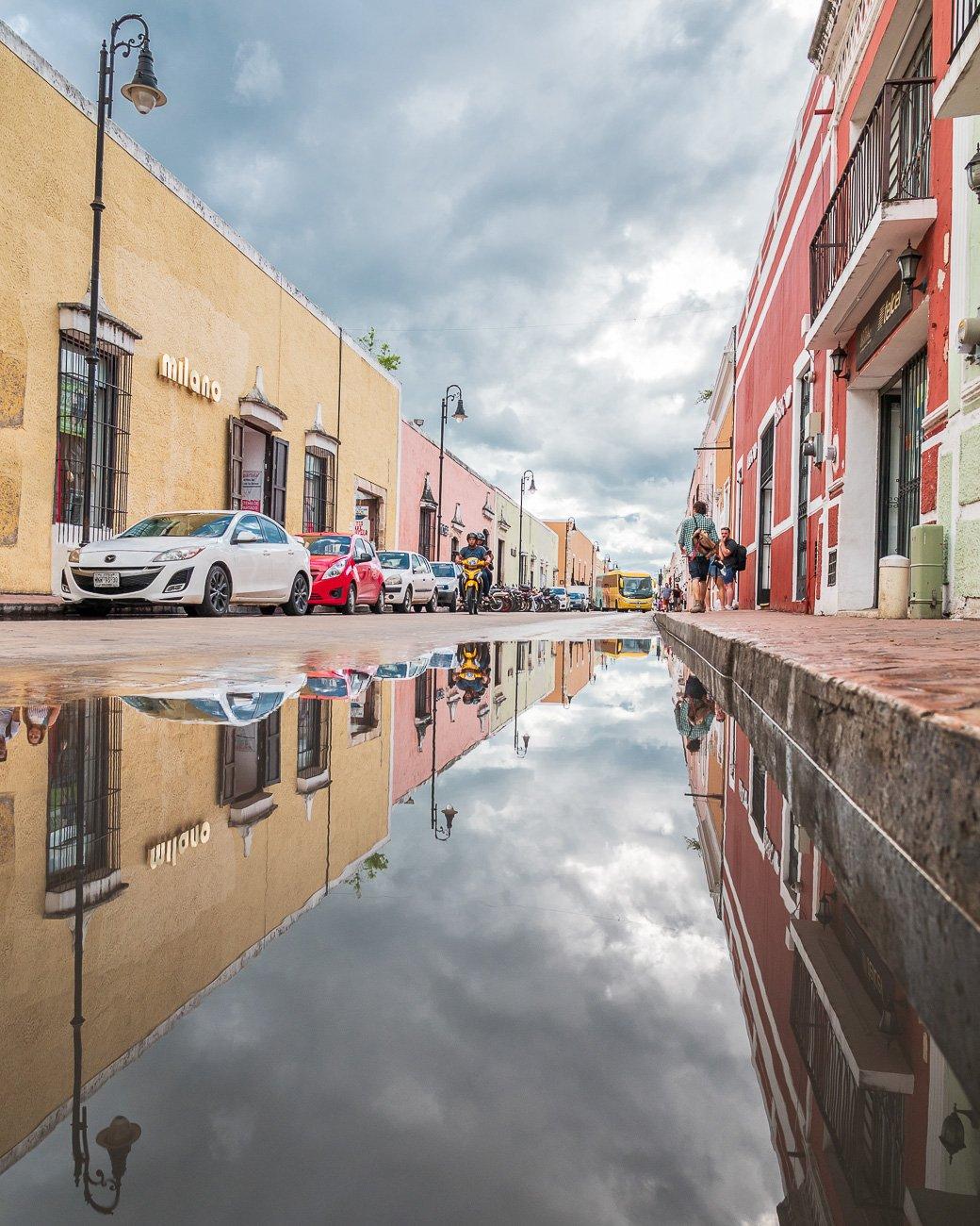Valladolid Mexique Ville colorée