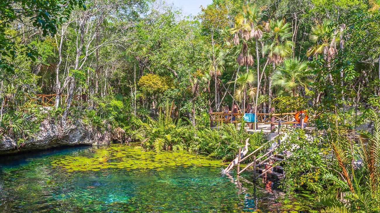 Voyage au Mexique Cenote