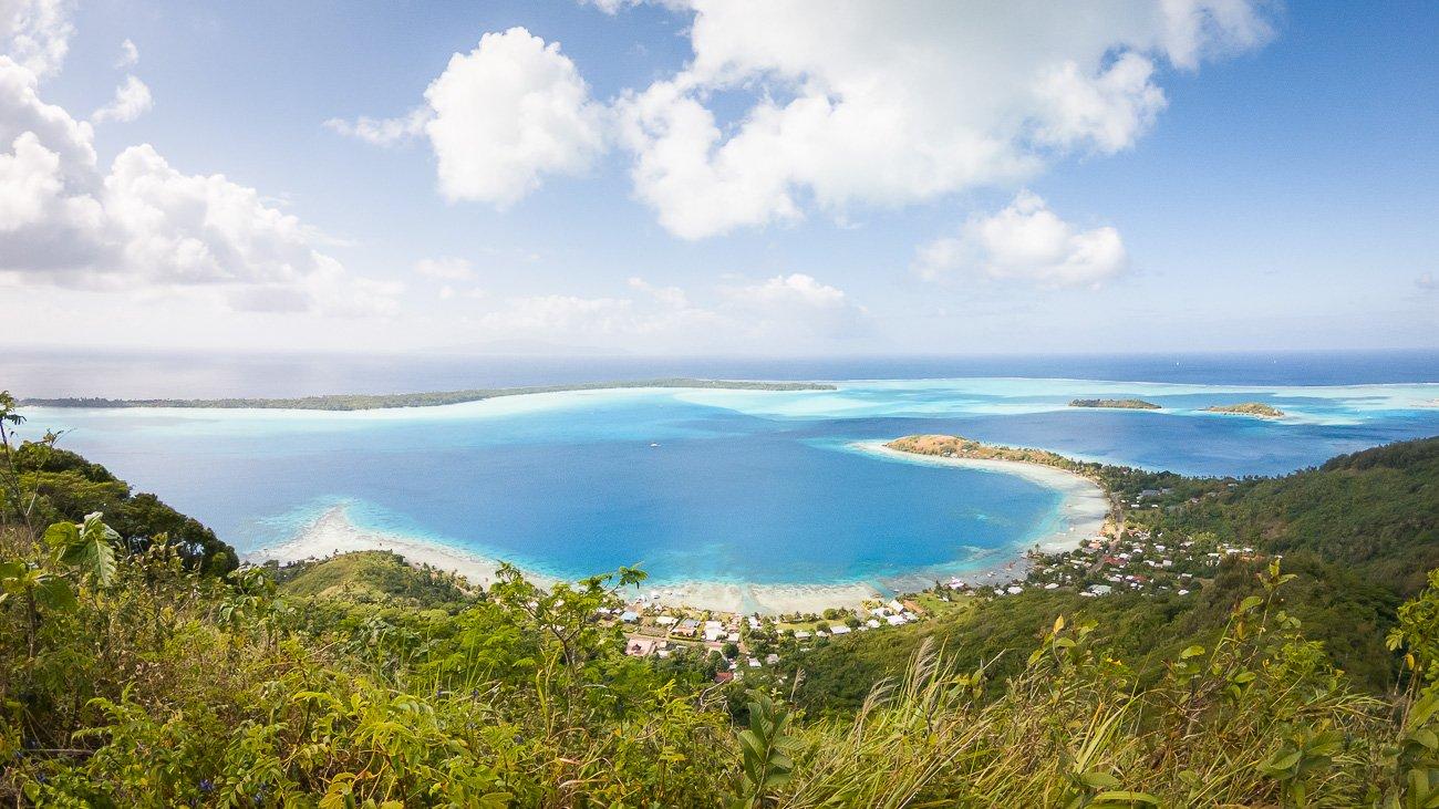 lagon bleu turquoise