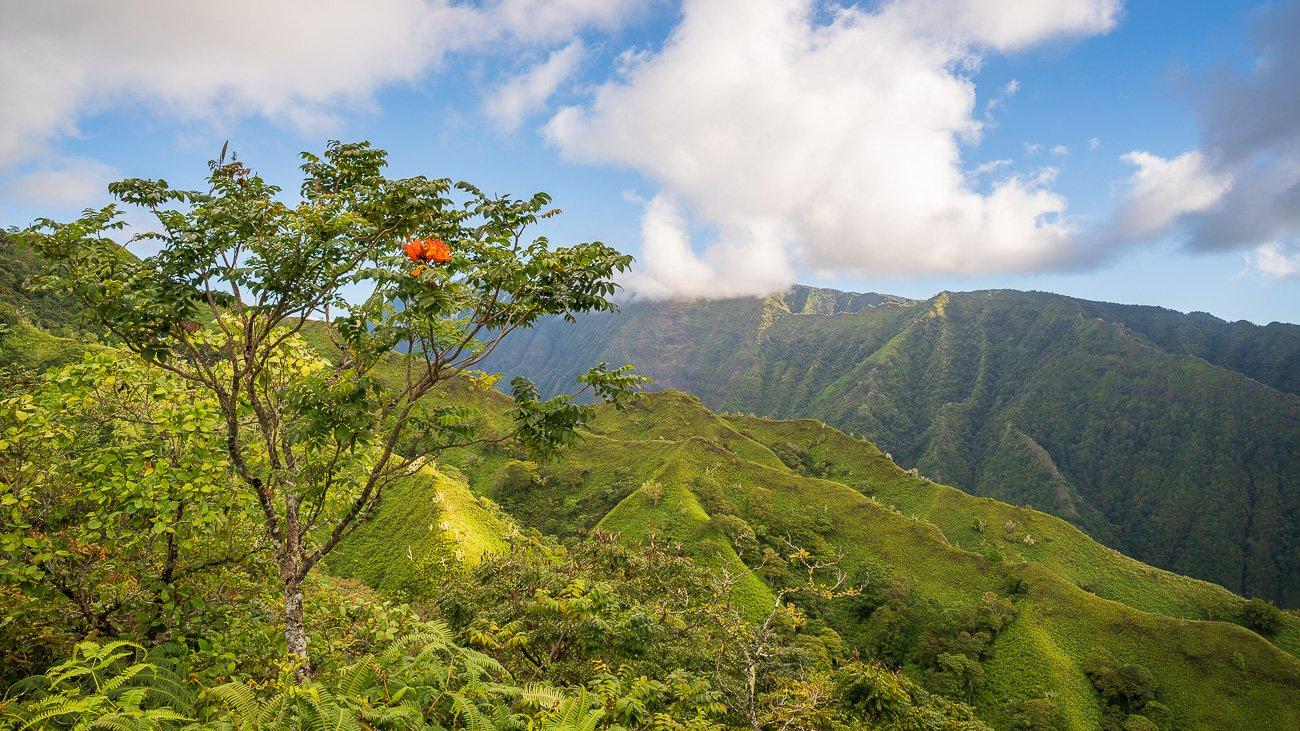 randonner à Tahiti