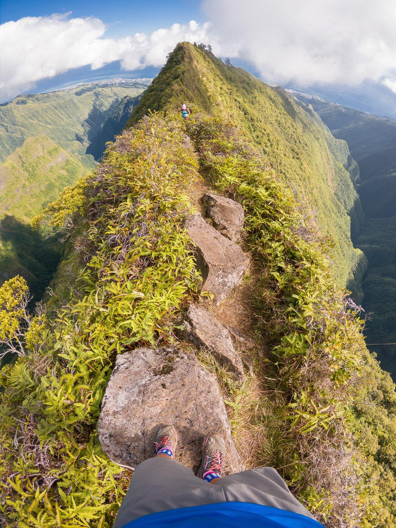 randonnée Tahiti crète