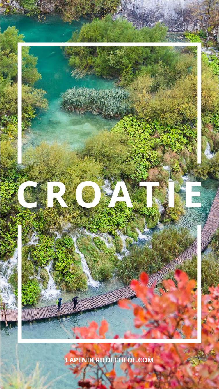 voyage Croatie Pinterest