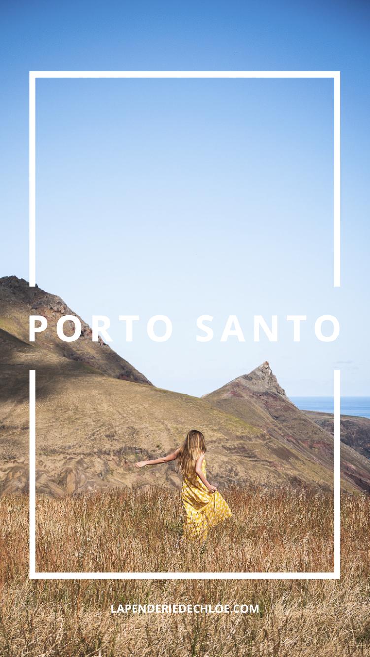 Porto Santo voyage Pinterest