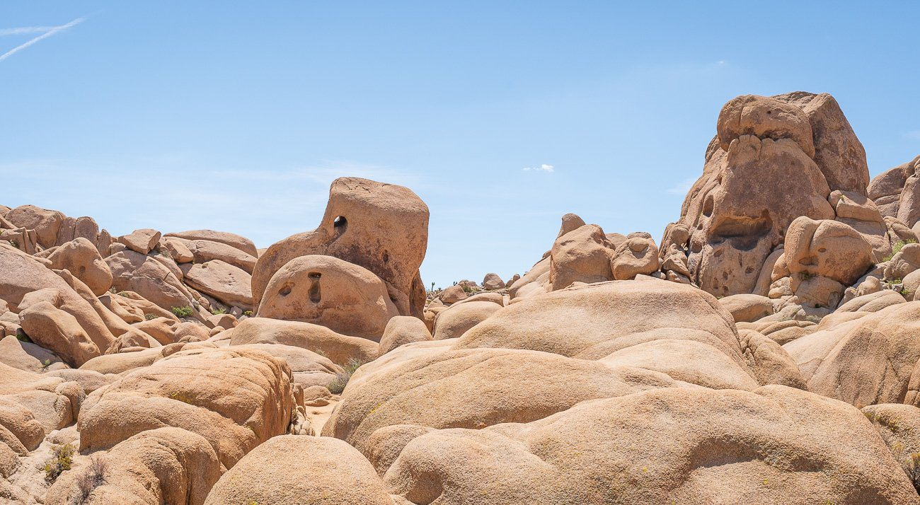 Formations Rocheuses Joshua Tree