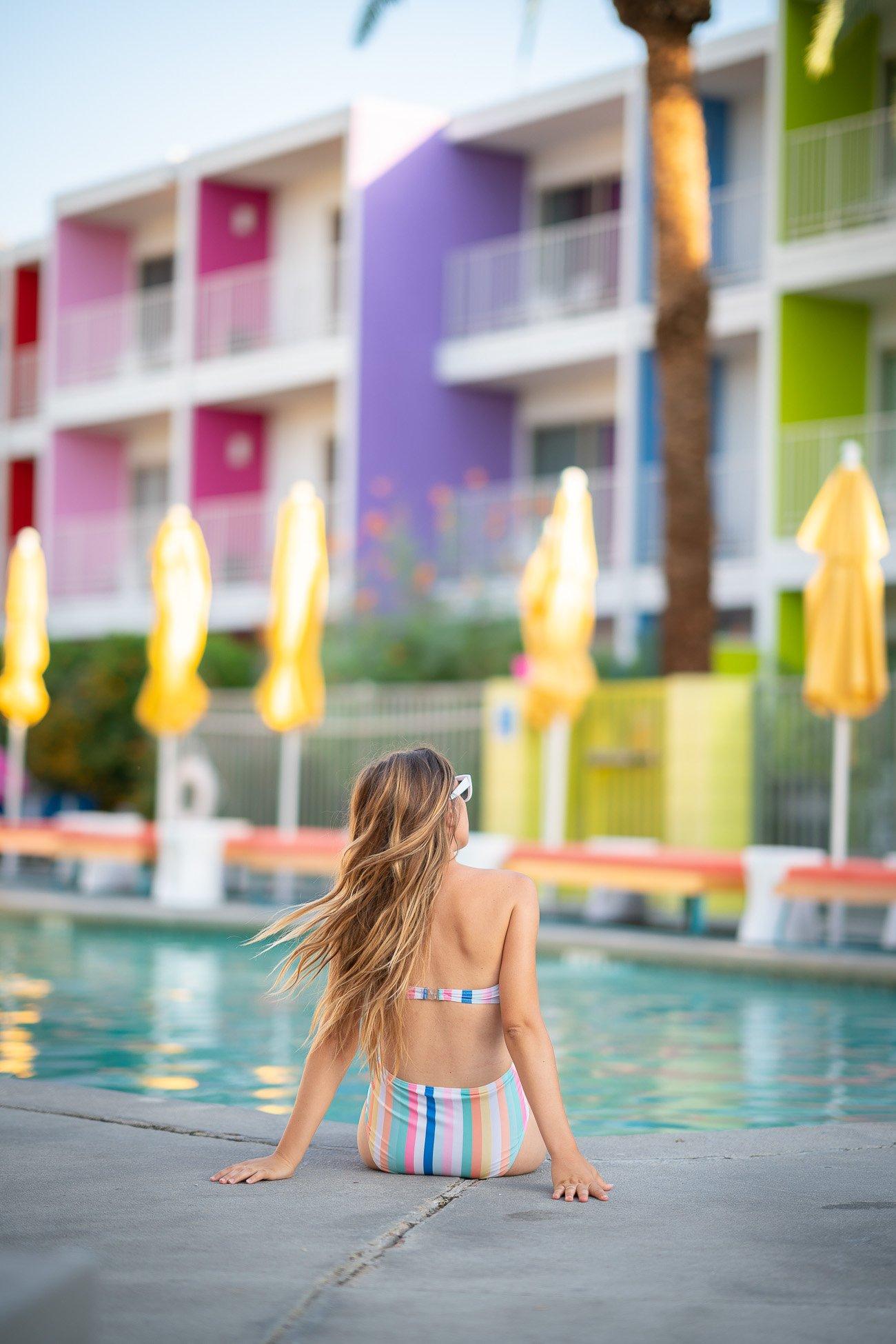 Hotel piscine Palm Springs