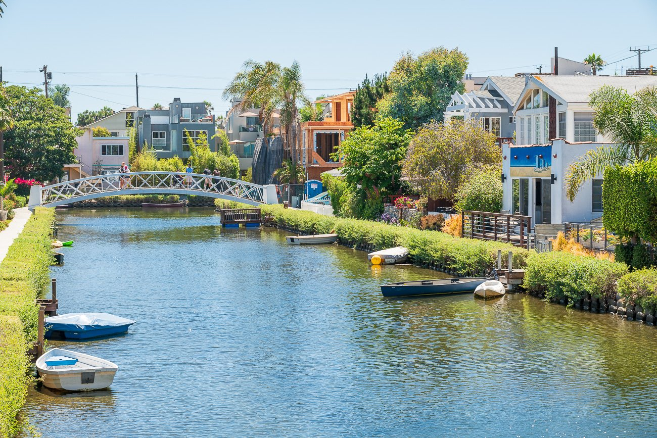 Voyage Los Angeles Venice Canals