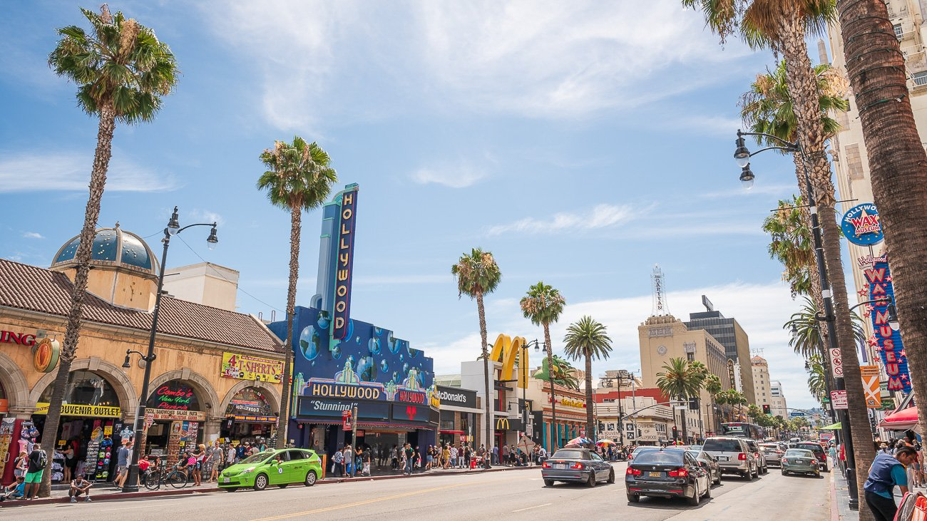 Los Angeles Visiter Voyage