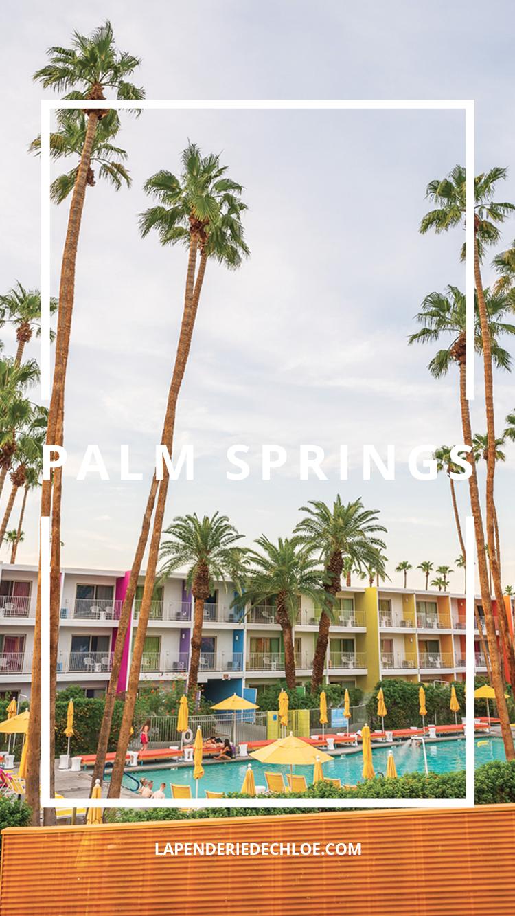 Palm Springs Pinterest