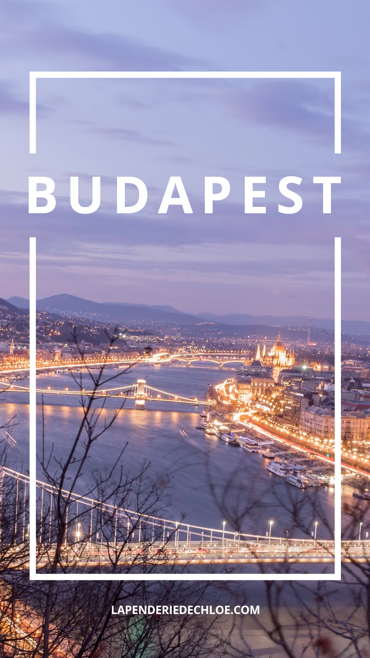 visiter découvrir Budapest Hongrie Pinterest