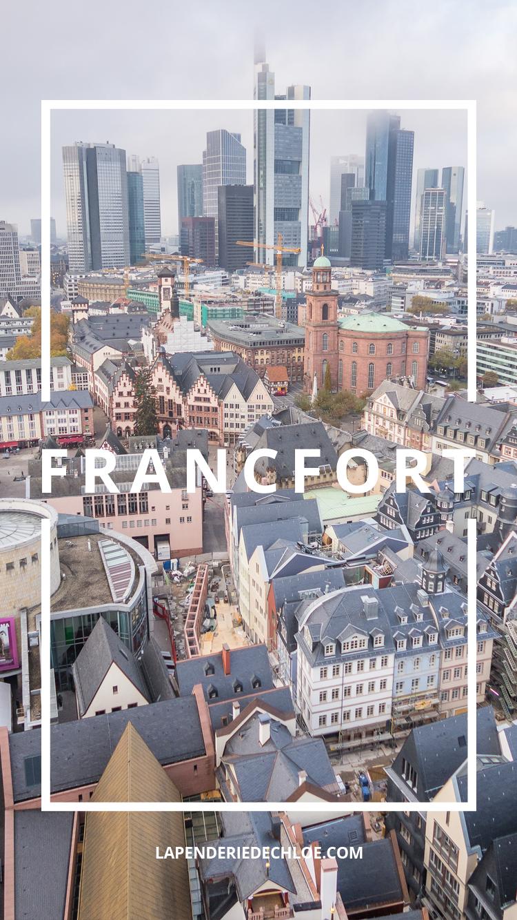voyage Francfort Pinterest
