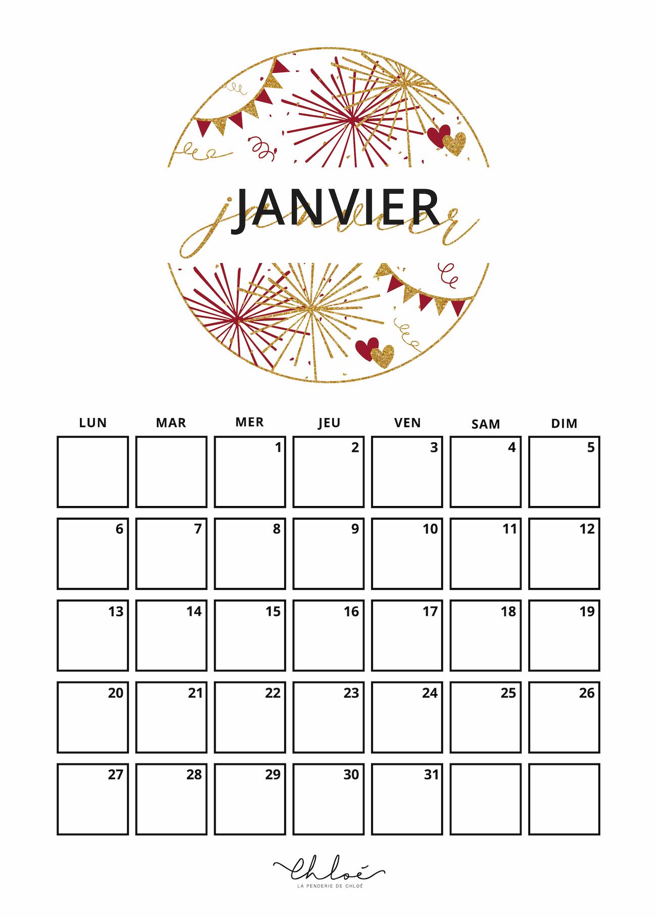 Calendrier 2021 à Imprimer Pinterest Calendriers à imprimer 2020   Blog Lifestyle | La Penderie de Chloé