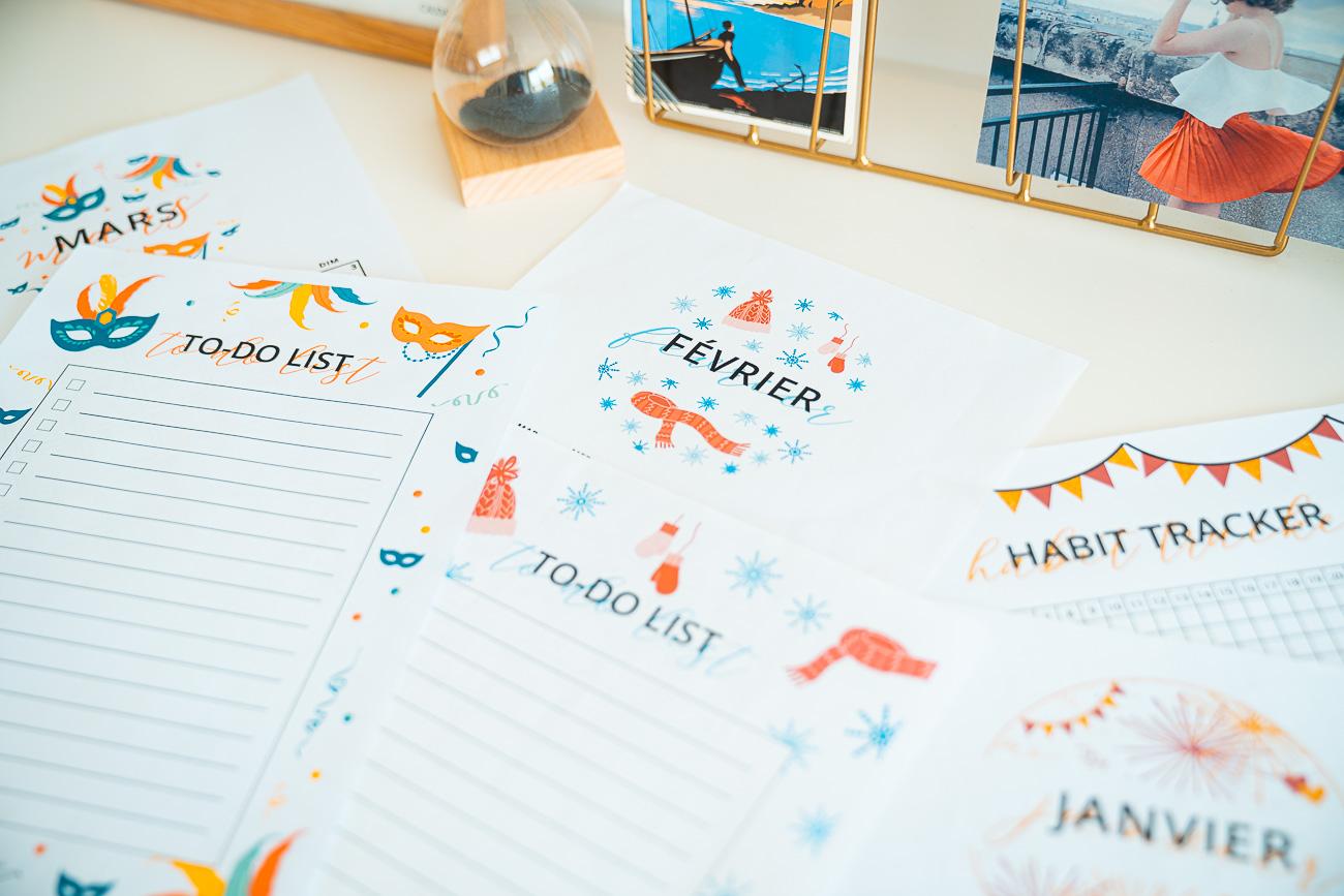 Calendriers A Imprimer 2020 Blog Lifestyle La Penderie De Chloe