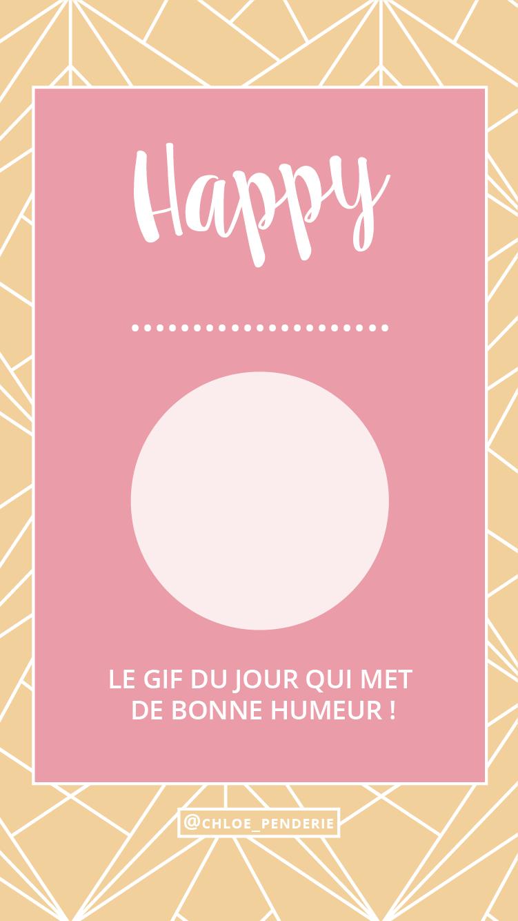 template instagram happy spring
